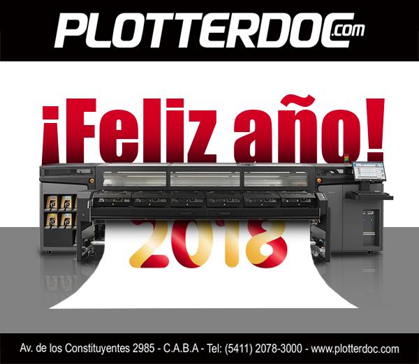 ¡Feliz 2018 desde Plotterdoc.com!