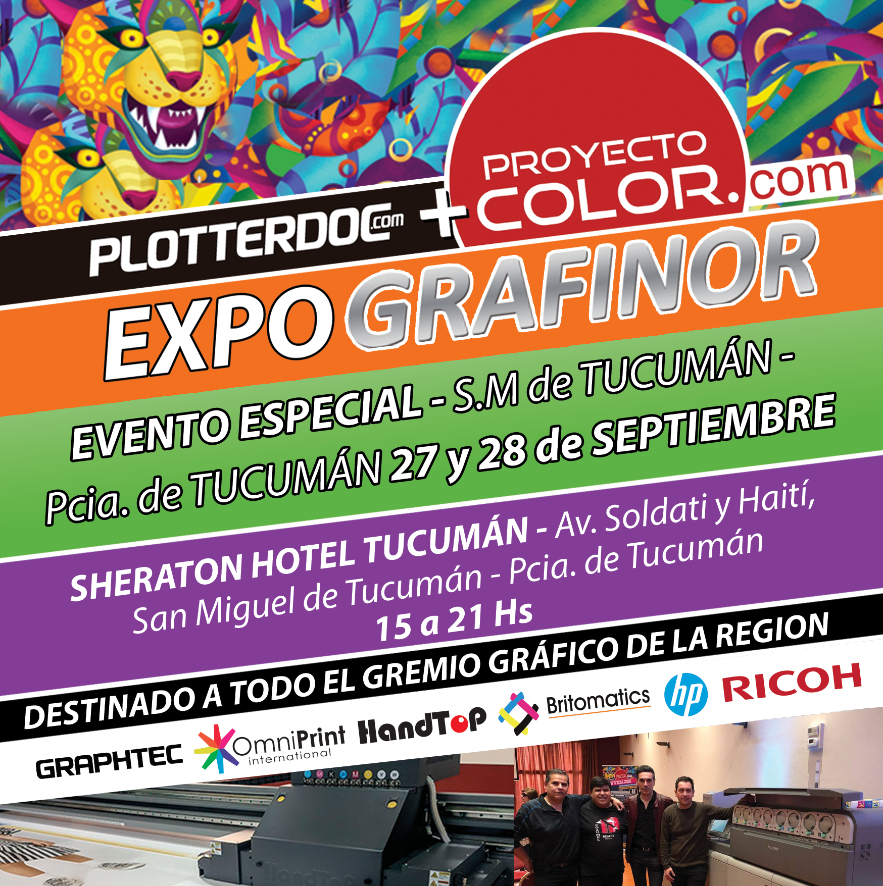 ¡Vení a vernos en Tucumán!