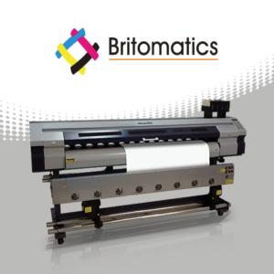 Britomatics Falcon Plotter de impresión UV 1801