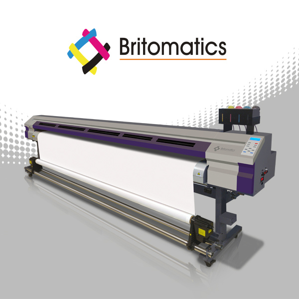 Britomatics Falcon Plotter de impresión Ecosolvente 3202